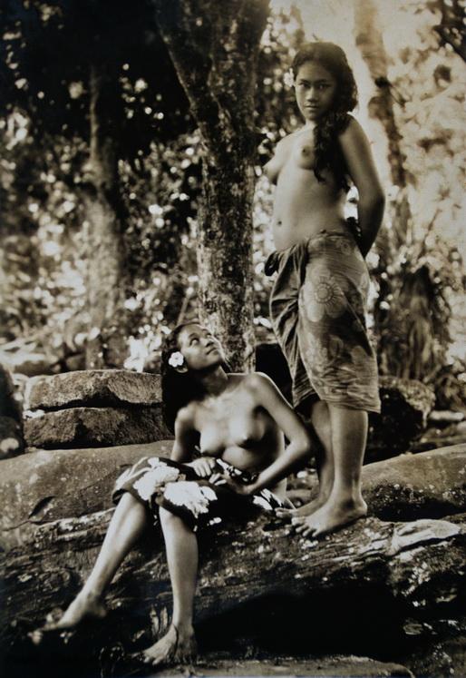 Aux îles Marquises (J.W. Church - 1918)